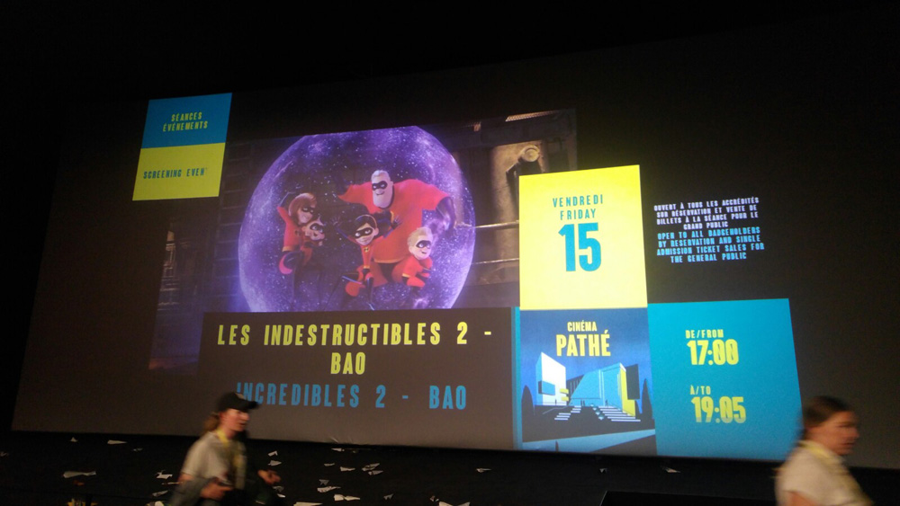 Projection Les Indestructibles 2 et BAO