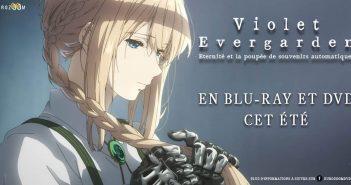 Le Blu-Ray Violet Evergarden : Eternité et la poupée de souvenirs automatiques chez Eurozoom