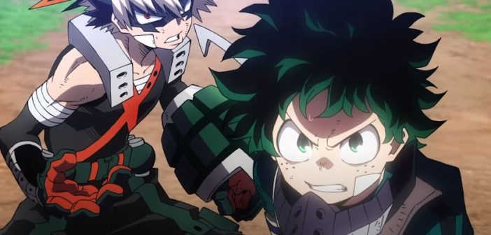 Le film My Hero Academia Heroes Rising au cinéma en France