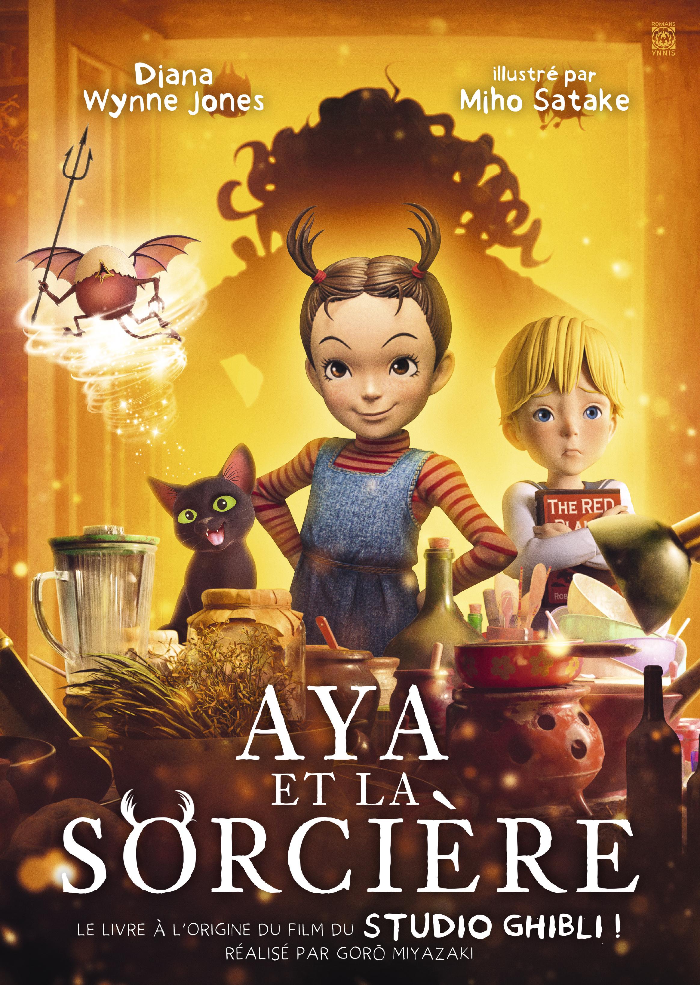 Aya et la sorcière Roman