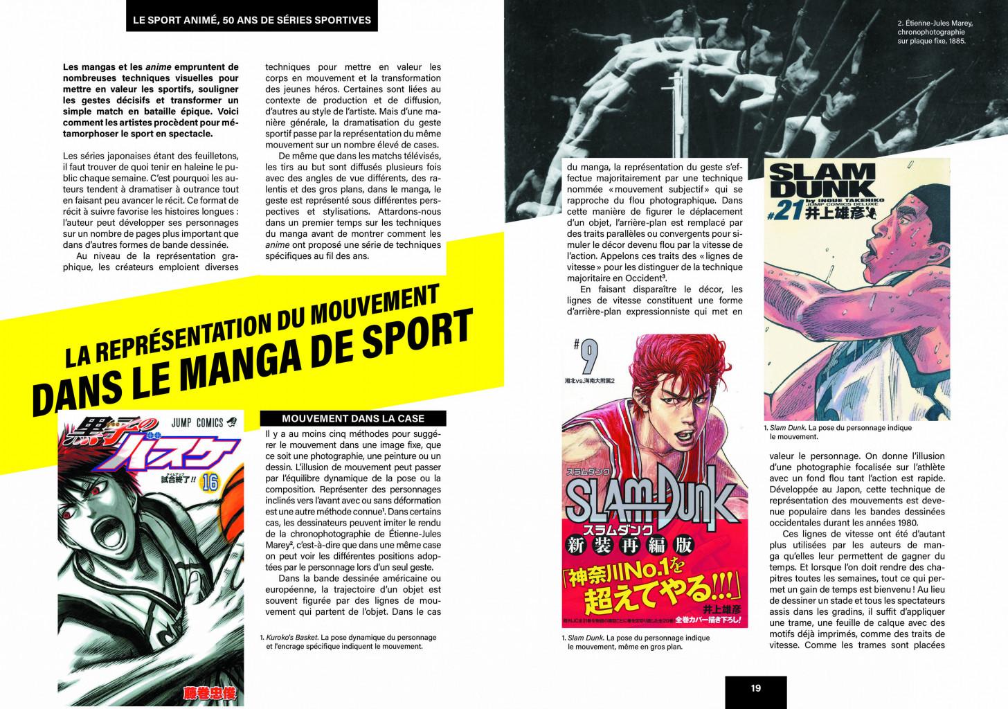 Extrait Sport Anime