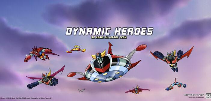 Isan Manga annonce le manga Dynamic Heroes de Gô Nagai & Kazuhiro Ochi